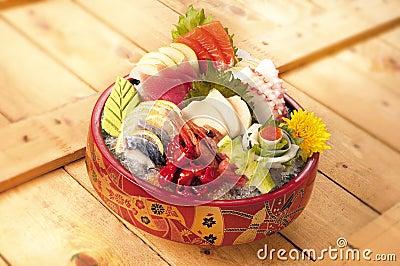 sashimi japan