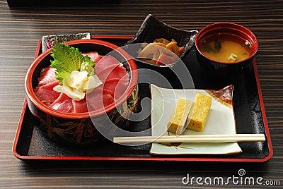 Japanese Food Set Meal