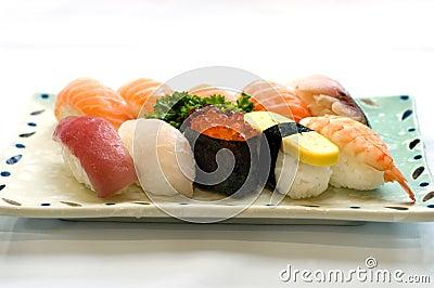 Japanese Food, Various Sushi