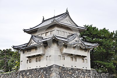 The Japanese Fort of Nagoya Castle