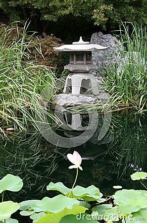 Free Japanese Garden Royalty Free Stock Photo - 1025235