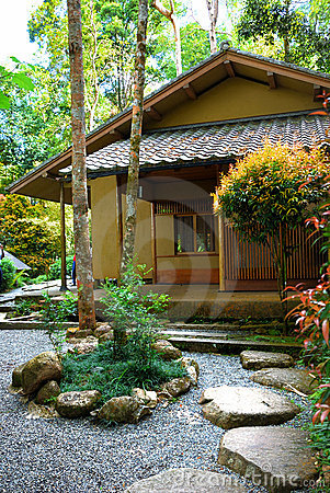 Japanese Garden Royalty Free Stock Photos - Image: 8657638
