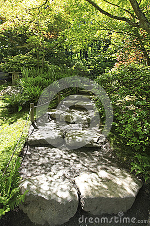 Japanese Garden In Seattle Stock Photo Image 40688516