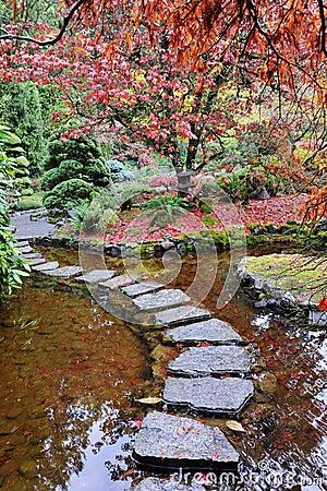 Free Japanese Gardens Stock Image - 7320551