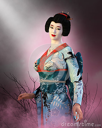 Free Japanese Geisha Girl, Japan Woman Royalty Free Stock Photos - 79138598