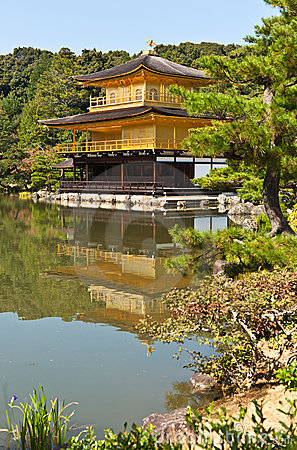 Japanese golden pagoda