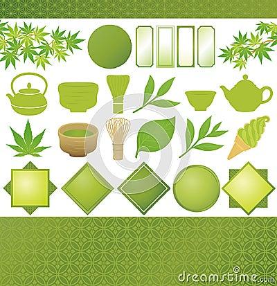Free Japanese Green Tea Royalty Free Stock Photo - 35352685