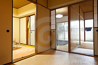 Japanese home indoor