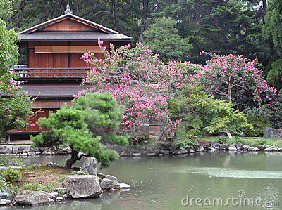 Japanese house and its garden
