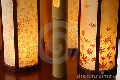 Japanese Interior Lamp