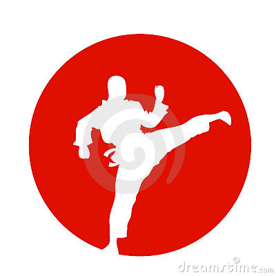 Japanese kung fu fighter