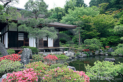 Japanese landscape garden