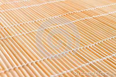 Japanese mat, texture to make sushi