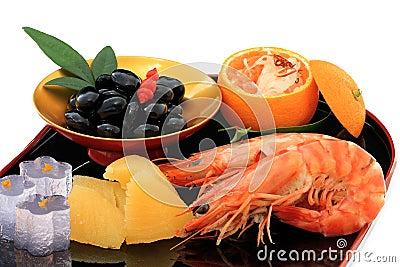 Japanese New Year Celebration food
