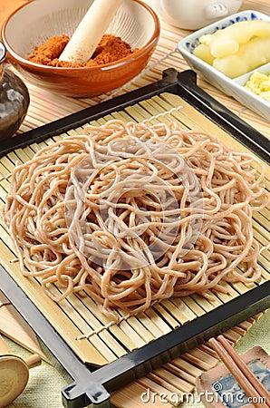 Japanese noodle - soba