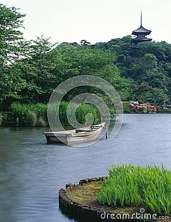 Japanese old garden