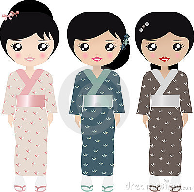 Free Japanese Paper Doll Royalty Free Stock Photos - 8030158