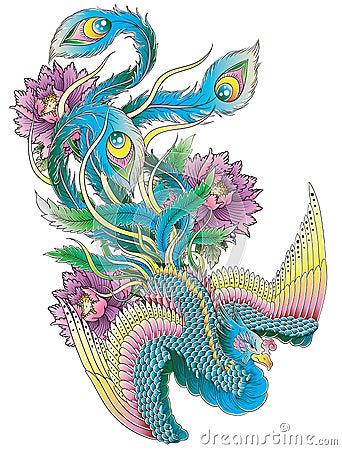 Free Japanese Peacock Stock Photos - 33177173