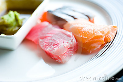 Japanese raw fish
