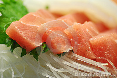 Japanese raw fish