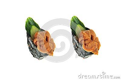 Japanese rice sushi