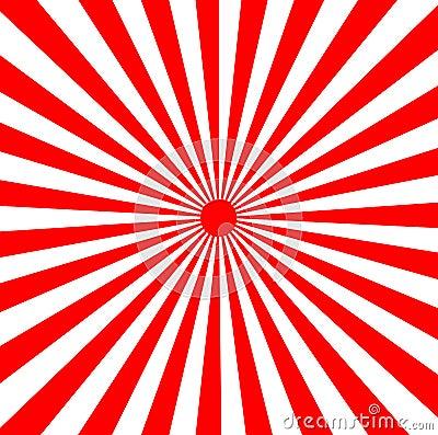 Free Japanese Rising Sun Sunbeams Stock Images - 3012374
