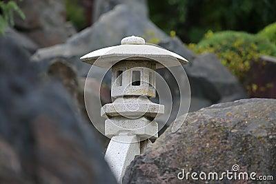 Japanese rock light