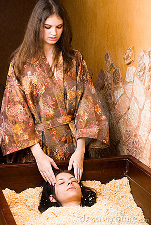 Japanese spa procedure