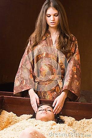 Japanese spa procedure