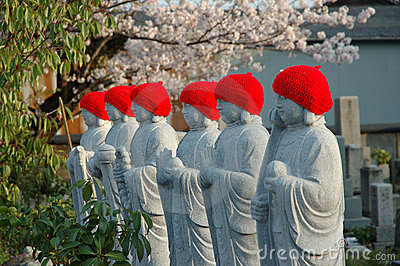 Japanese statues
