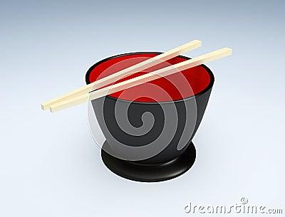 The Japanese sticks