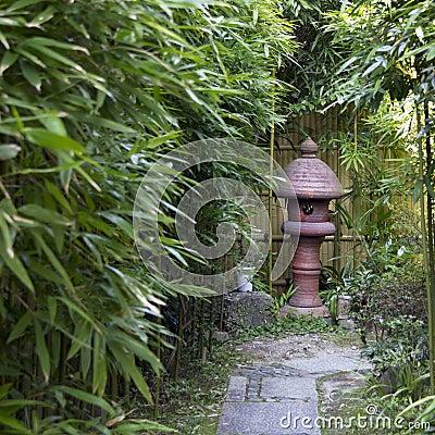 Free Japanese Stone Lantern Stock Photos - 36033013