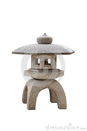Free Japanese Stone Lantern Royalty Free Stock Image - 51243206