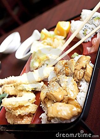 Free Japanese Style Bento Box Stock Photography - 17794292