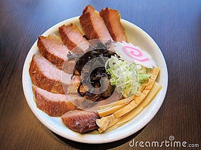 Japanese style pork