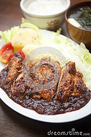 Japanese style Pork chop