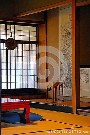Japanese style room stock photo image 55573030 for Japanese style windows