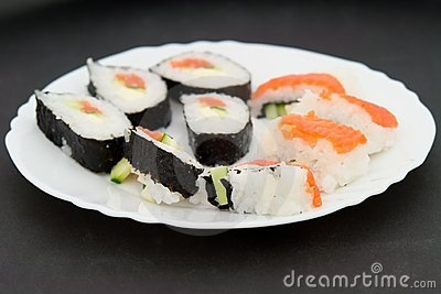 Japanese Sushi Stock Photos - Image: 5552103