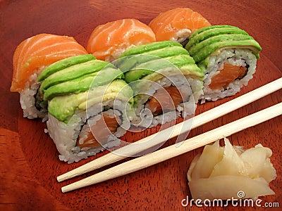 Japanese Sushi Meal