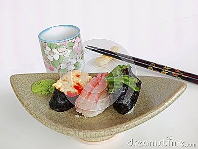 Japanese Sushi and Tea (Ocha)