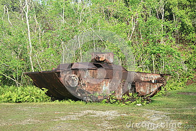 Japanese tank from WWII