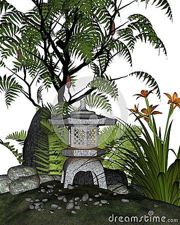 Japanese Tea Garden Corner
