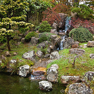 The Japanese Tea Garden in Golden Gate Park SF