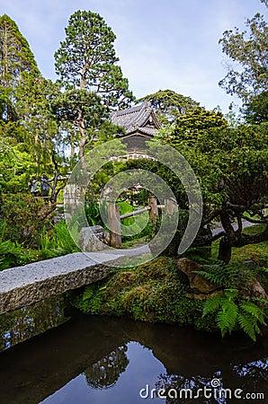 Free Japanese Tea Garden In San Francisco Stock Photography - 40651242