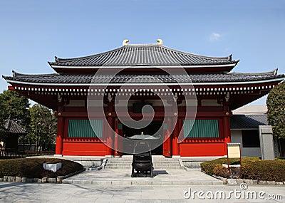 Japanese Temple - Asakusa Tokyo