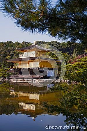 Japanese Temple Kinkaku Ji