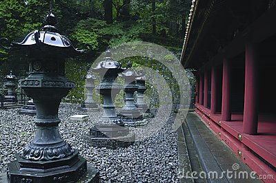 Japanese temple outdoor