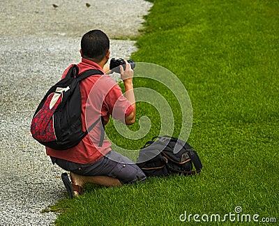 Japanese Tourist Photographer