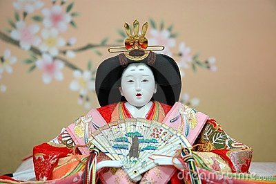 Japanese Traditional Doll - female