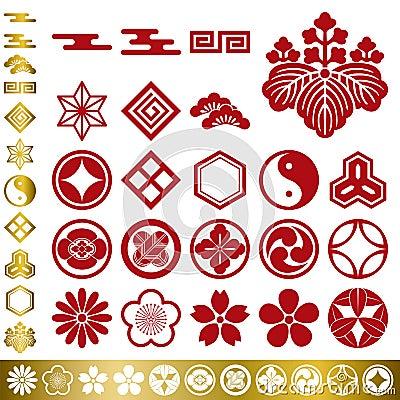 Free Japanese Traditional Elements Set Royalty Free Stock Image - 17314396